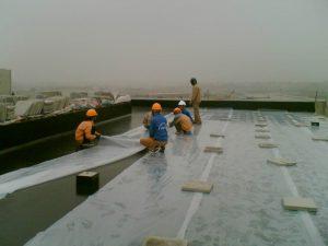 Lót chống thấm công trình xây dựng
