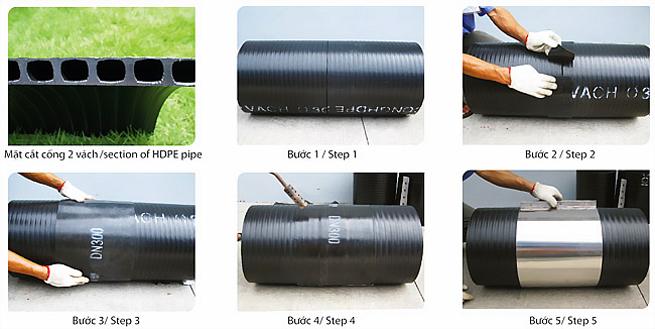 Cách Sử dụng nhựa HDPE